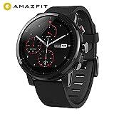 AMAZFIT Stratos 2 Smartwatch, Huami Reloj Inteligente con GPS, Versión Internacional, Funciona con...