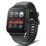 TagoBee Smartwatch Reloj Inteligente Hombre Mujer Pantalla táctil Completa 1.54', Pulsera de Actividad Inteligente Impermeable ip67 con de Caloría Monitor de Sueño Pulsómetros GPS para Android iOS