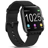 AIMIUVEI Smartwatch, Reloj Inteligente IP67 con Pulsómetro, Presión Arterial, 7 Modos de Deportes y GPS, Monitor de Sueño Caloría 1.4 Inch Pantalla TáctilSmartwatch para Mujer y Hombre