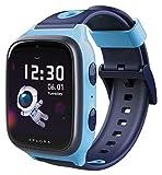 XPLORA 4 - Teléfono Reloj 4G para niños (SIM no incluida) - Llamadas, Mensajes, Modo Colegio, SOS, GPS, cámara y podómetro - Incluye 2 años de garantía (Azul)
