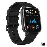 Xiaomi Amazfit GTS Reloj Smartwactch Deportivo | 14 días Batería | GPS+Glonass | Sensor Seguimiento Biológico BioTracker PPG | Frecuencia Cardíaca | Natación | Bluetooth 5.0 (iOS & Android) Negro