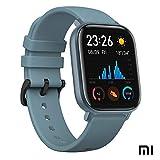 Xiaomi Amazfit GTS Reloj Smartwacht Deportivo | 14 días Batería | GPS+Glonass | Sensor Seguimiento Biológico BioTracker PPG | Frecuencia Cardíaca | Natación | Bluetooth 5.0 (iOS & Android) Azul
