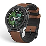 Amazfit GTR 47mm Reloj Inteligente Deportivo AMOLED de 1.39',GPS GLONASS Integrado Frecuencia Cardíaca de 24 Horas Larga duración de batería 12 Deportes Diferentes Aluminium Alloy