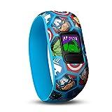 Garmin Vívofit Jr. 2 - Monitor de actividad para niños, Marvel Avengers (Banda elástica),...