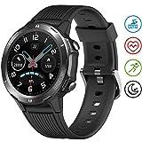 UMIDIGI Uwatch GT Reloj Inteligente Smartwatch Hombre 5ATM Impermeable con Cronómetro Pulsera Actividad de Fitness con Podómetro Smartwatch Niños para Xiaomi Huawei y iOS Android