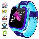 bhdlovely Reloj Inteligente para Niños La Musica y 7 Juegos, Smart Watch Phone, 2 Vías...