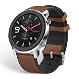 Amazfit GTR 47mm Reloj Inteligente Smartwatch Deportivo AMOLED de 1.39' GPS + GLONASS Integrado Frecuencia cardíaca Continua de 24 Horas Larga duración de batería 12 Deportes Diferentes - Acero