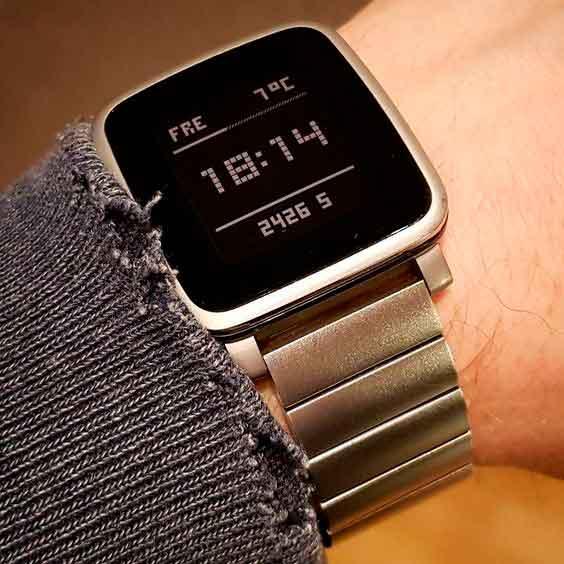 pebble time diseño