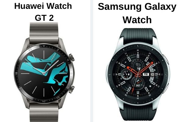huawei watch gt 2 vs Samsung Galaxy watch