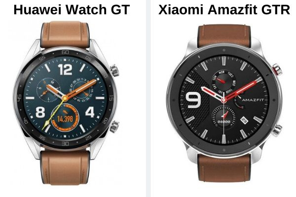 Huawei Watch gt vs Xiaomi Amazfit Gtr