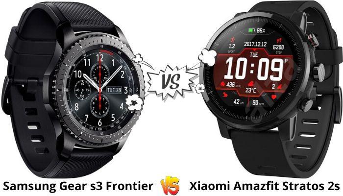 Xiaomi Amazfit vs Samsung Gear