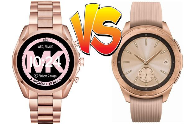 michael kors vs samsung galaxy