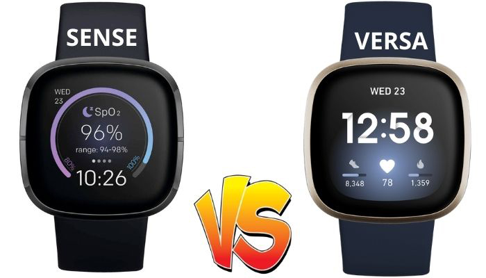 fitibit versa 3 vs fitbit sense