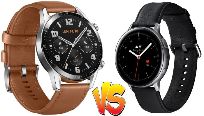 huawei watch gt2 classic vs galaxy watch active 2
