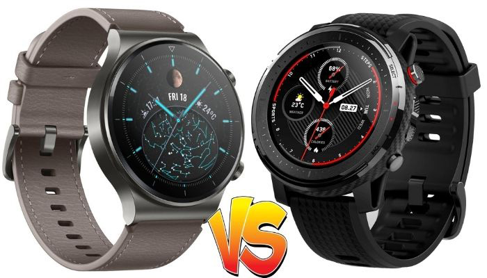huawei watch gt2 pro vs amazfit stratos 3