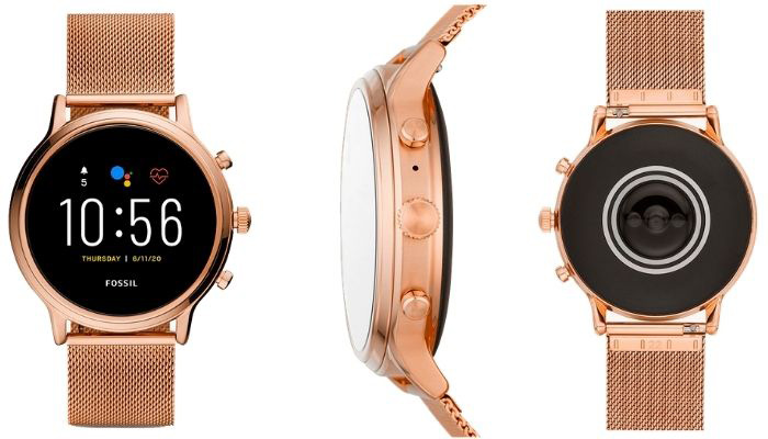 smartwatch fossil mujer ftw6062