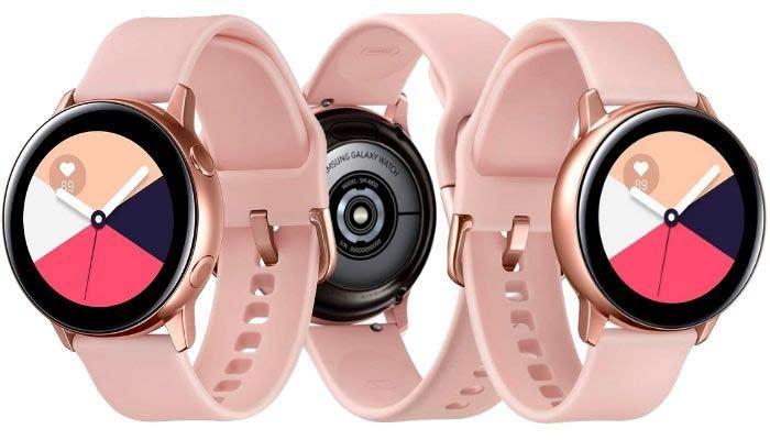 galaxy watch active 2 rosa