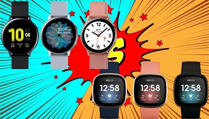 galaxy watch active 2 vs fitbit versa 3