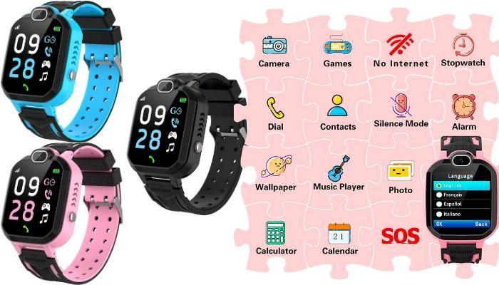 reloj tactil para niños