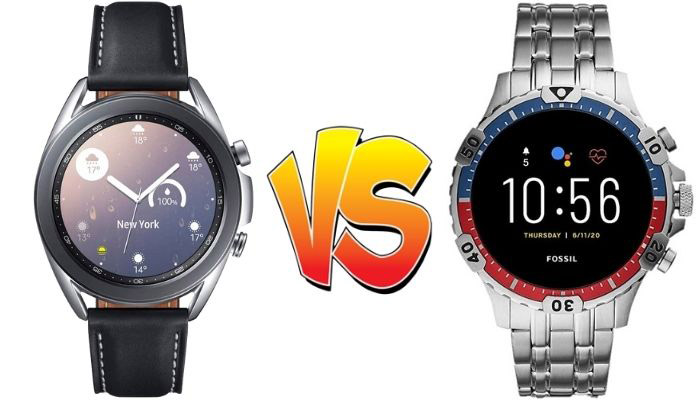 samsung galaxy watch 3 vs fossil garret hr