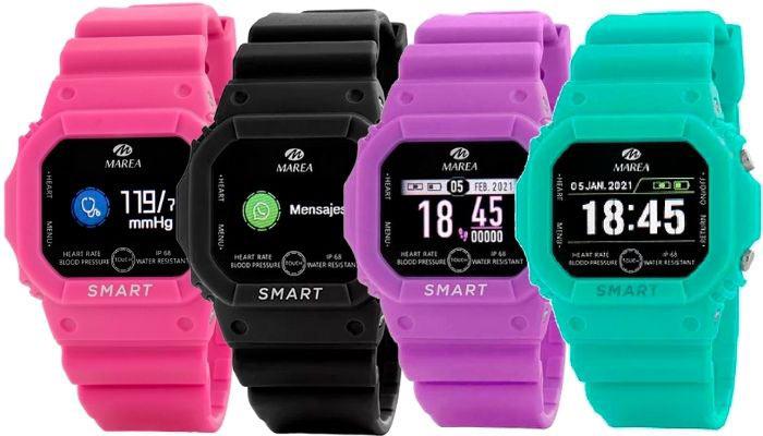 marea smart watch b60002